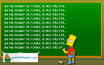 Sésame des Simpsons crédit à Fox