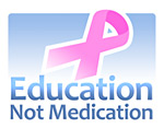 Education Not Medication mike adams logo