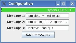 HypnoQuit Quit smoking with free java program