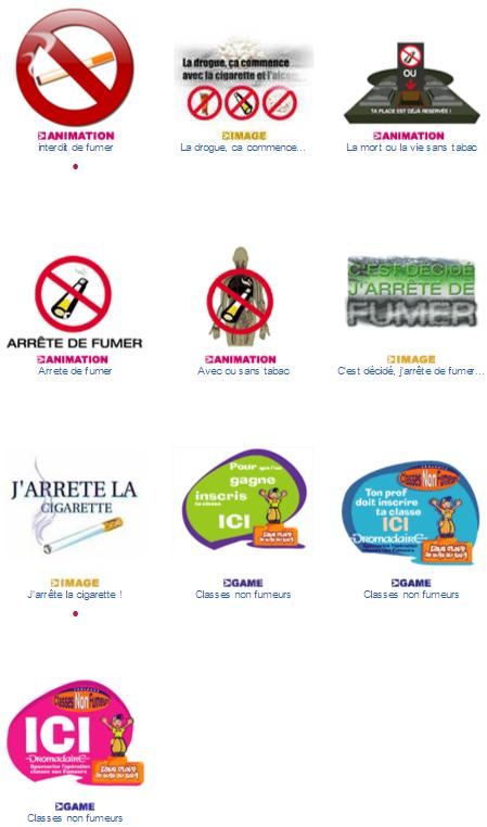 Cartes virtuelles Arret du tabac de Dromadaire
