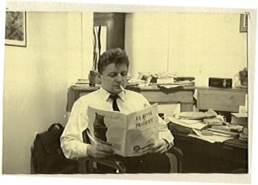 Robert Molimard fume en 1957
