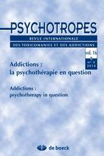 Psychotropes vol. 16, 2010/2