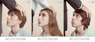 DNF pub publicité BDDP tabac pipe fellation