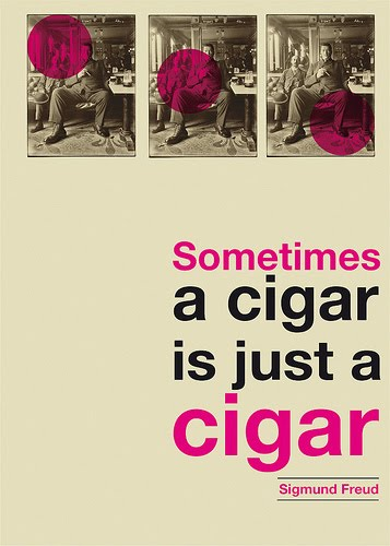 Sometimes a cigar is just a cigar © Stéphane Massa-Bidal Retrofuturs