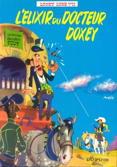 Lucky Luke et le Dr Doxey et son élixir