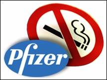 Pfizer antismoking