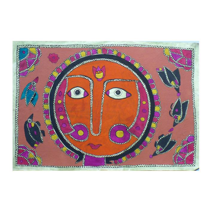 Yoga nidra, Yamuna Devi, Madhubani