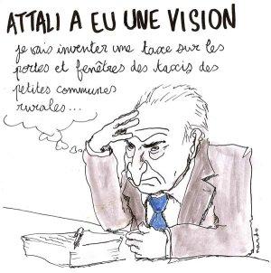 Attali a eu une vision credit Nardo pour bakchich.info
