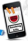 Cigarette box iPhone & iPod Smooth Apps zoom