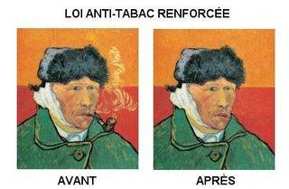 Van Gogh fumeur tabac atayollah