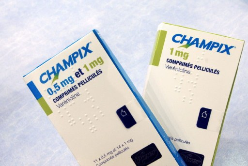 Champix Pfizer varenicline boites