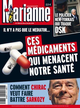 Marianne 18 juin 2011 n° 739