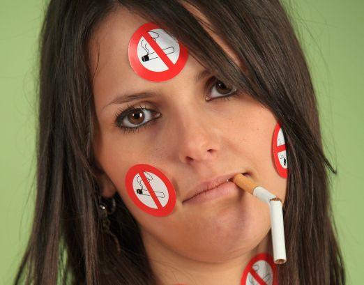 Les mauvaises habitudes lexposé sur le fumer