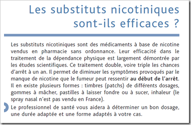 nicotine afssaps has substituts nicotiques
