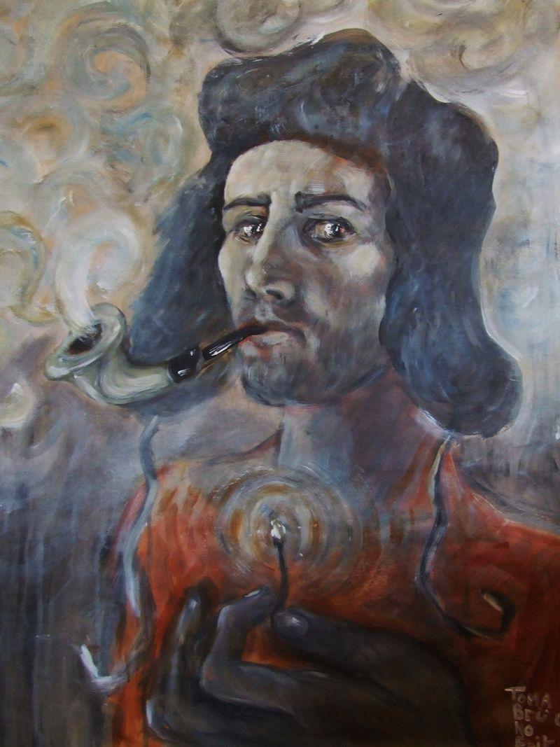 Le fumeur toma bru no erik