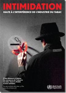 OMS affiche Intimidation 2012