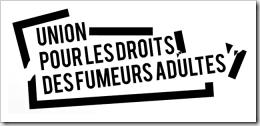 Logo UDFA Union pour les droits des fumeurs adultes