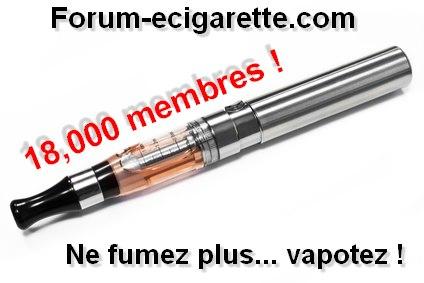 Forum-ecigarette.com 18 000 membres