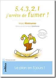 Klinkhamer Le plan en cinq jours Ed. Jouvence 2012