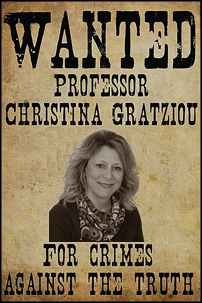 Gratziou wanted for crimes against the truth