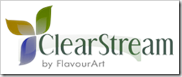 Clearstream logo Flavour Art