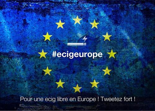 Pour une ecig libre en Europe #ecigeurope
