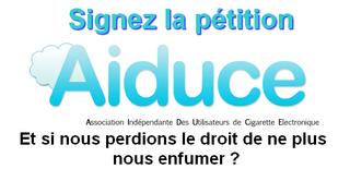 Signez la petition AIDUCE