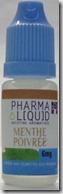 Pharmaliquid 6 mg Menthe poivrée