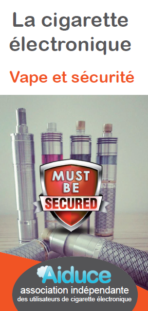 AIDUCE vape securite