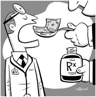 Corruption medecine credit Inthesetimes