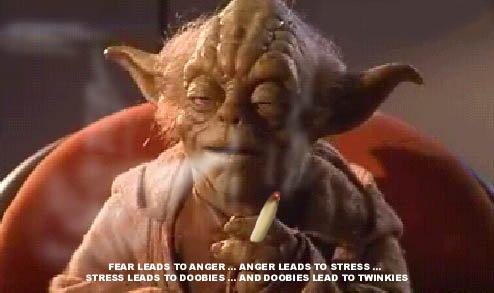 Votre personnalité illustrée Yoda_stress